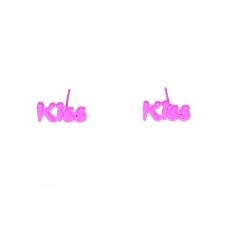 'Kiss Kiss' Oorbellen