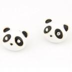 Pandabeer Oorbellen