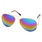 Regenboog Reflectie Bril