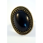 Zwarte Steen Ring