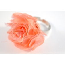 Roze Bloem Ring
