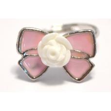 Roze Strik Ring