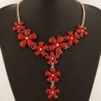 Rode Bloemen Ketting