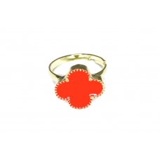 Rode Klaver Ring
