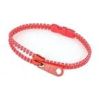 Rode Rits Armband