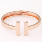 Rosé Gouden Staven Armband