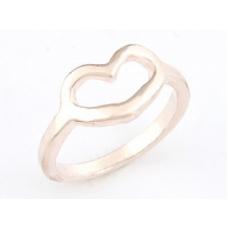 Rose Gouden Hartje Ring