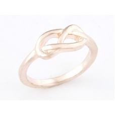 Rose Gouden Knoop Ring