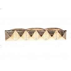 Rose Gouden Pyramide Ring