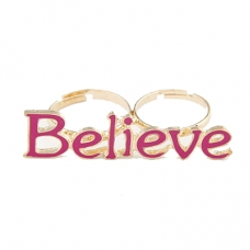 Roze Believe Ring