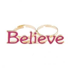Roze Believe Ring