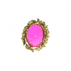 Paars/Roze Laurierkrans Ring