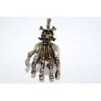 Skelet Hand Ring