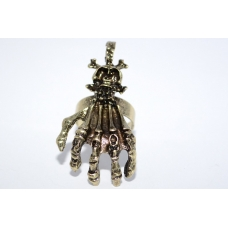 Skelet Hand Ring