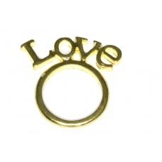 Staande Love Ring