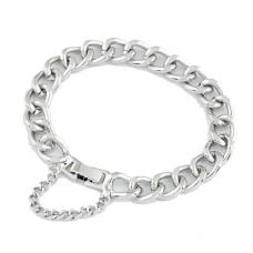 Unieke Zilveren Chain Armband