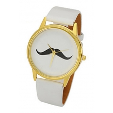 Witte Snor Horloge