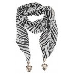 Zebra Print Sjaal