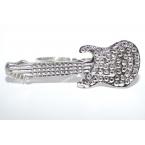 Zilveren Gitaar Ring