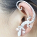 Zilveren Hagedis Ear Cuff