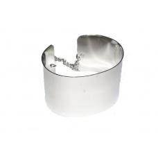 Zilveren Armor Armband