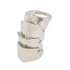 Zilveren Armor Ring II
