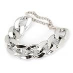 Zilveren Chain Armband