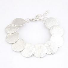 Zilveren Cirkels Armband