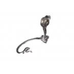 Zilveren Cobra Ear Cuff