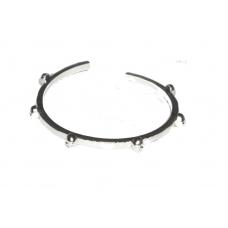 Zilveren Doodskop Armband