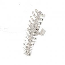 Zilveren Duizendpoot Ring