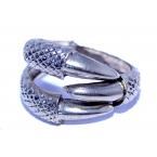 Zilveren Klauw Armband