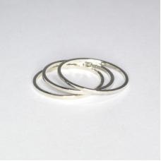 Zilveren Knuckle Ringen