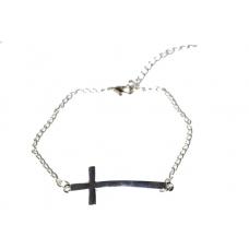 Zilveren Kruis Armband