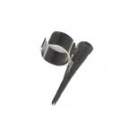 Zilveren Pin Ear Cuff