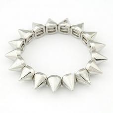 Zilveren Pinnen Armband