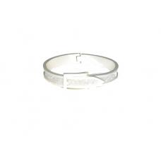 Zilveren Riem Armband