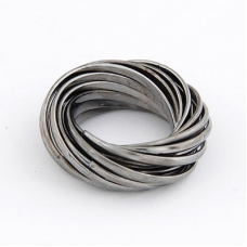 Zilveren Ringen Nest Ring