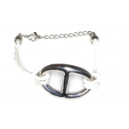 Zilveren Ring Met Witte Armband