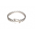 Zilveren Rits Armband