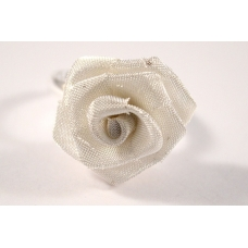 Zilveren Roos Ring