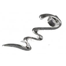 Zilveren Sliert Ear Cuff