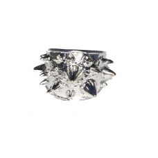 Zilveren Spikes Ring
