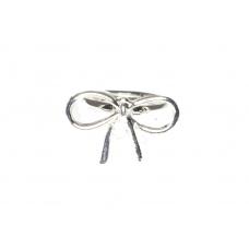 Zilveren Strikje Ring