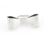 Zilveren Strik Ring III