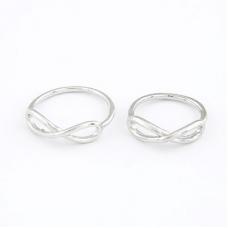 Zilveren Vlecht Ringen