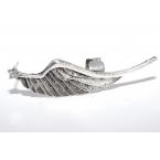 Zilveren Vleugel Ear Cuff