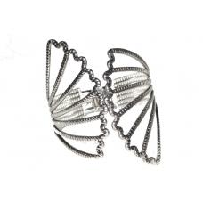 Zilveren Vlinder Vleugel Armband