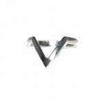 Zilveren 'V' Ring