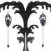 Zwarte Figuren Met Steen Oorbellen